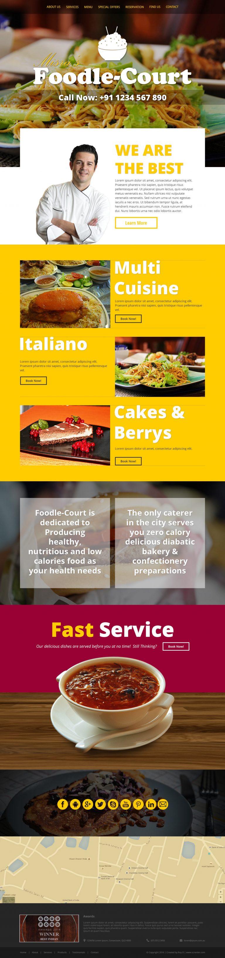 foodle-court-a-multi-cuisine-restaurant-bootstrap-responsive-website-psd