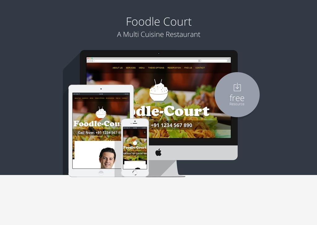 foodle-court-a-multi-cuisine-restaurant-bootstrap-responsive-website-template